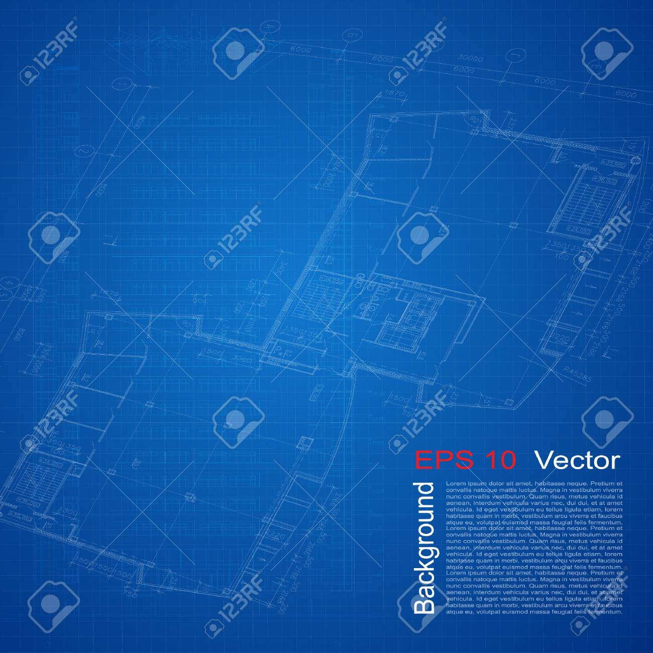 Urban blueprint vector architectural background part of urban blueprint vector architectural background part of architectural project architectural plan technical project malvernweather Image collections