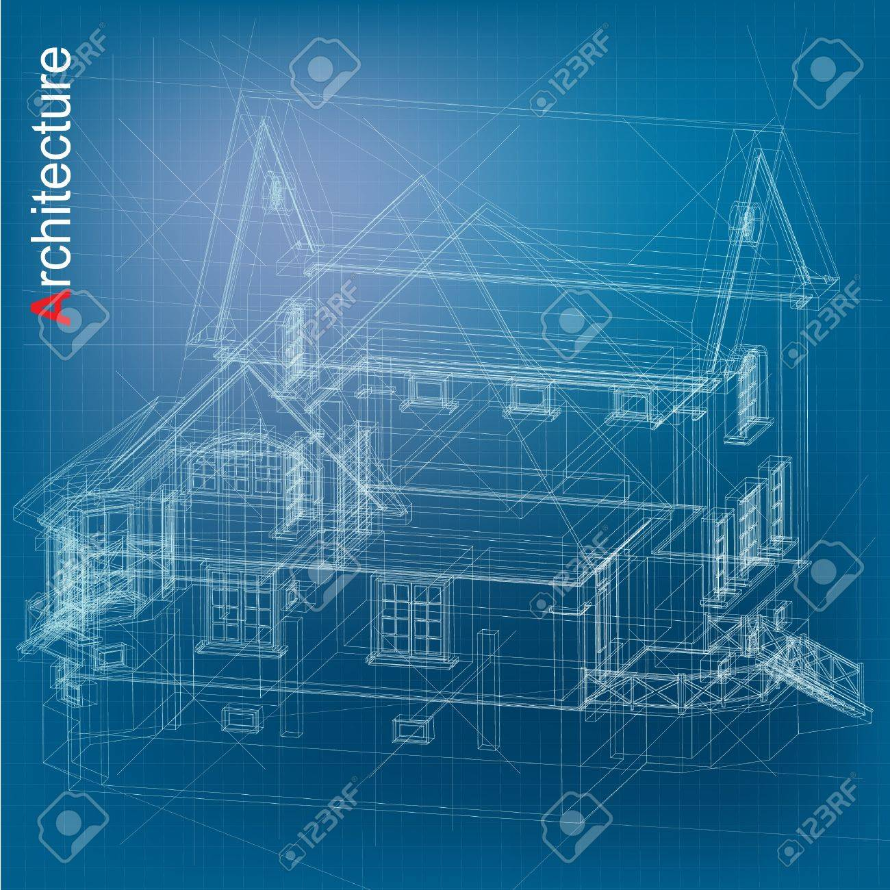 Urban blueprint vector architectural background royalty free urban blueprint vector architectural background stock vector 14404036 malvernweather Gallery