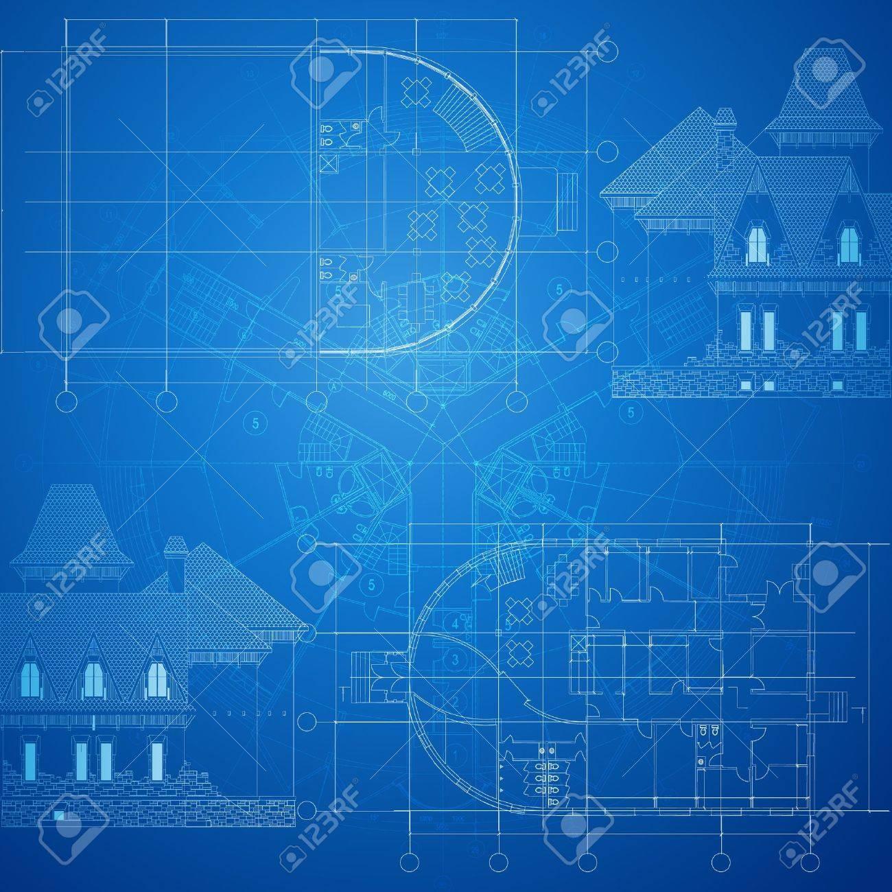 Urban Blueprint  vector Stock Vector - 14827342