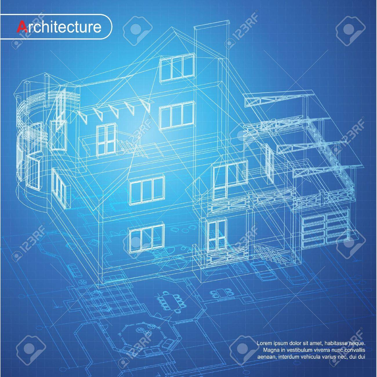 Urban blueprint architectural background part of architectural urban blueprint architectural background part of architectural project architectural plan technical project drawing malvernweather Choice Image