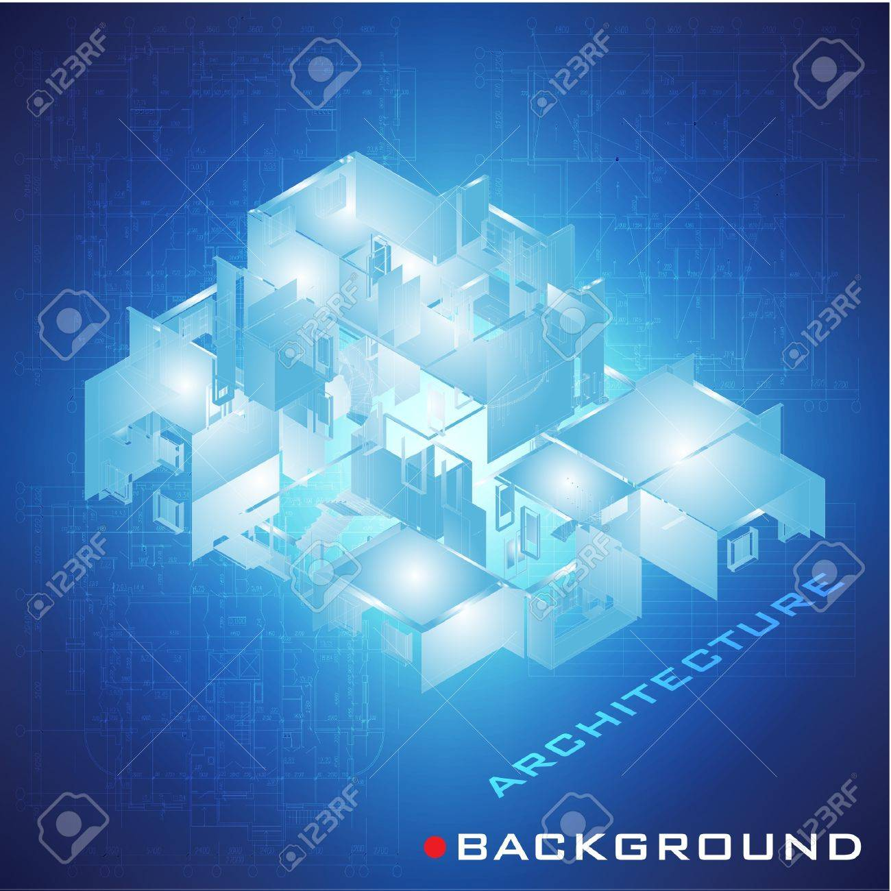 Abstract futuristic architectural design urban blueprint vector abstract futuristic architectural design urban blueprint vector architectural background part of architectural project malvernweather Images