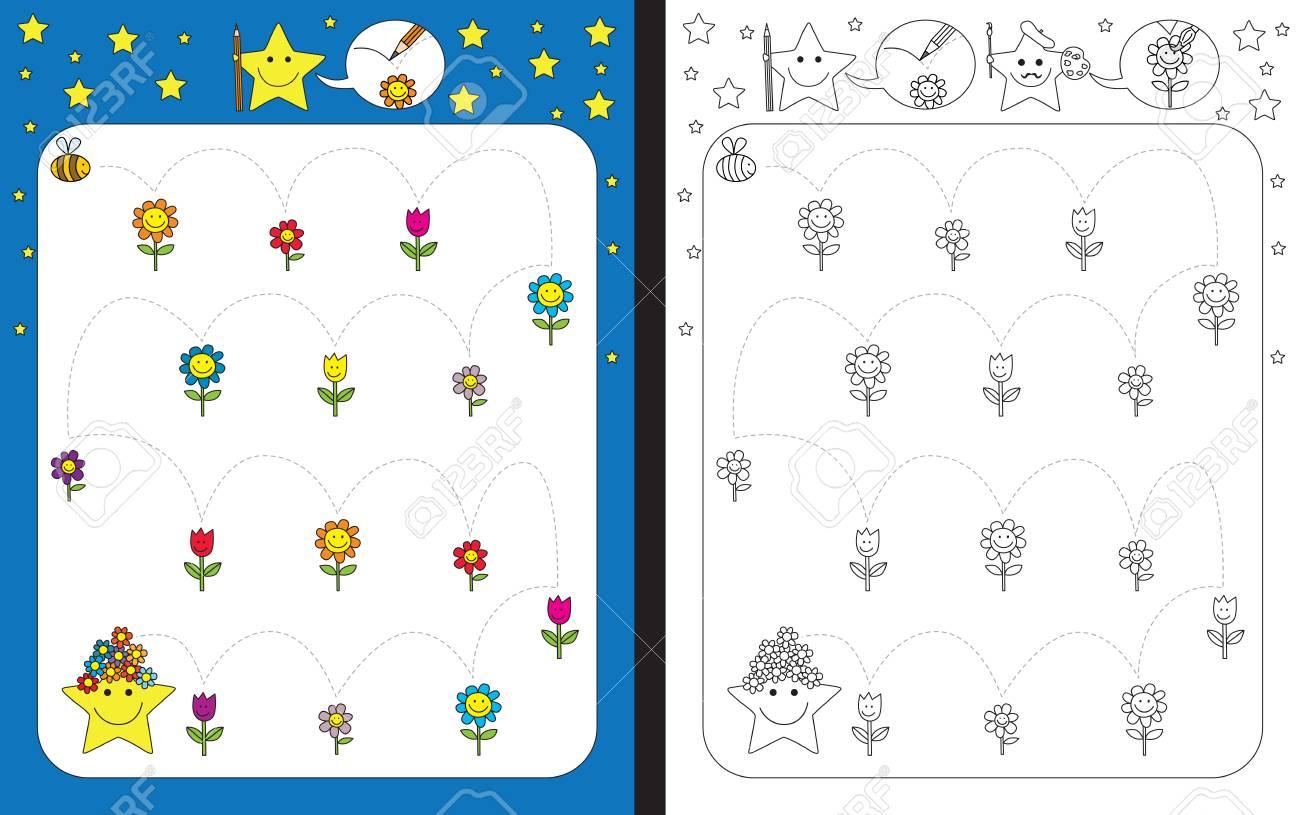 Bonito Abejas Hoja De Trabajo Imagen - hojas de trabajo para niños ...