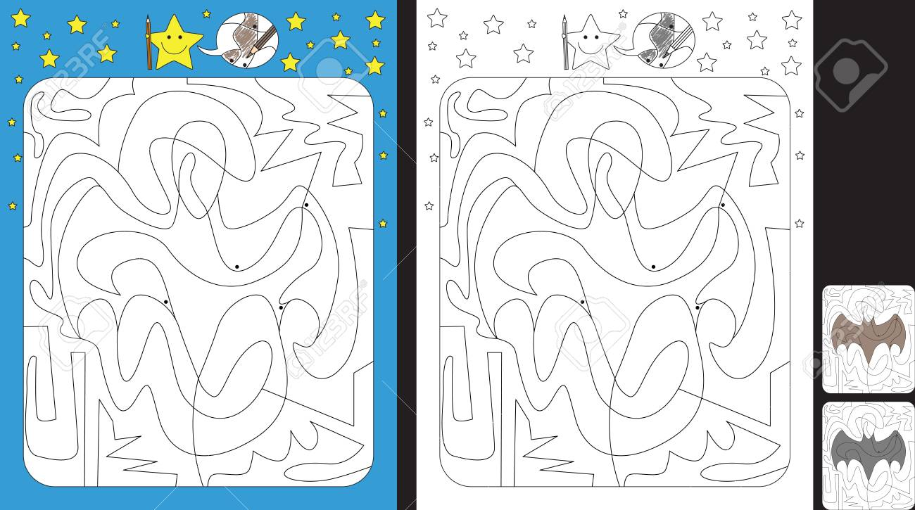 Connect the dots picture puzzle and coloring page - Halloween ... | 725x1300