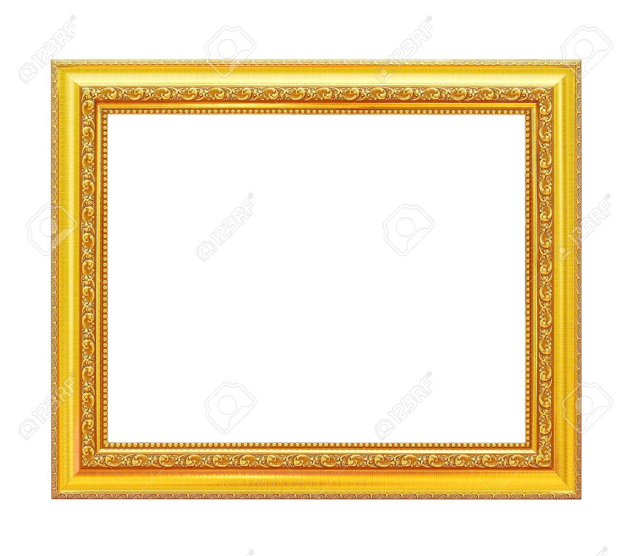 Gold Frame. Gold / Vergoldet Kunsthandwerk Muster Bilderrahmen ...
