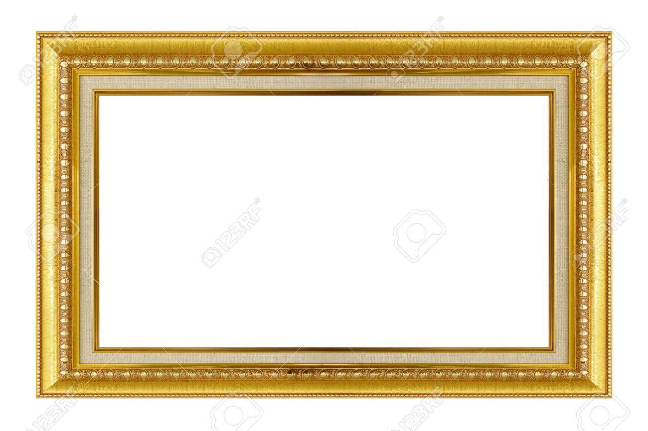 Marco Del Oro. Oro / Artes Dorados Y Artesanías Patrón Marco De ...