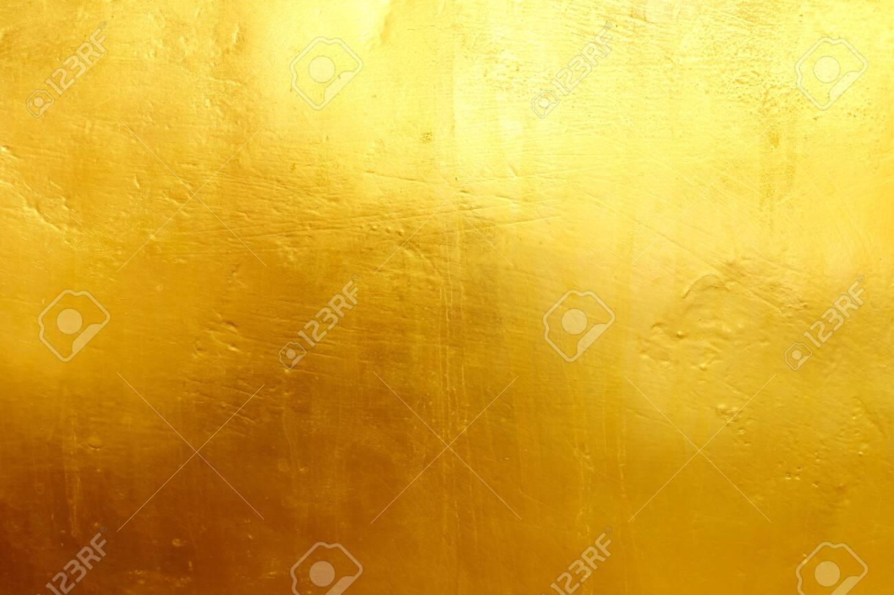 Golden cement texture background - 121695706