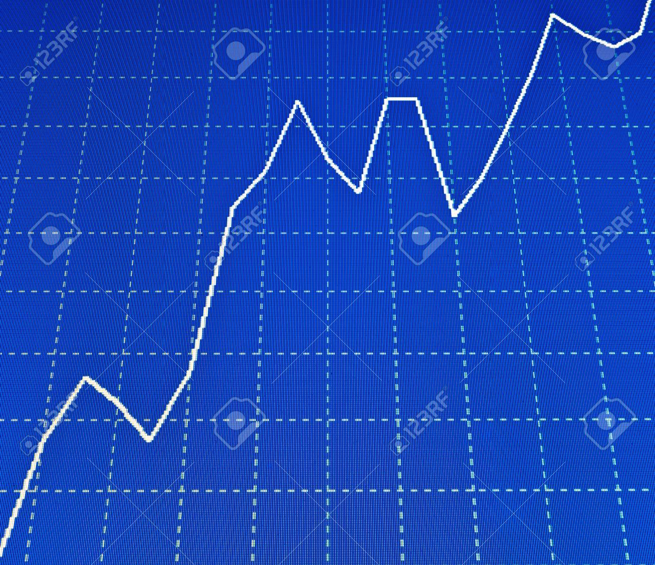 Charts and quotes on display display of stock market quotes charts and quotes on display display of stock market quotes stock exchange rates ccuart Images