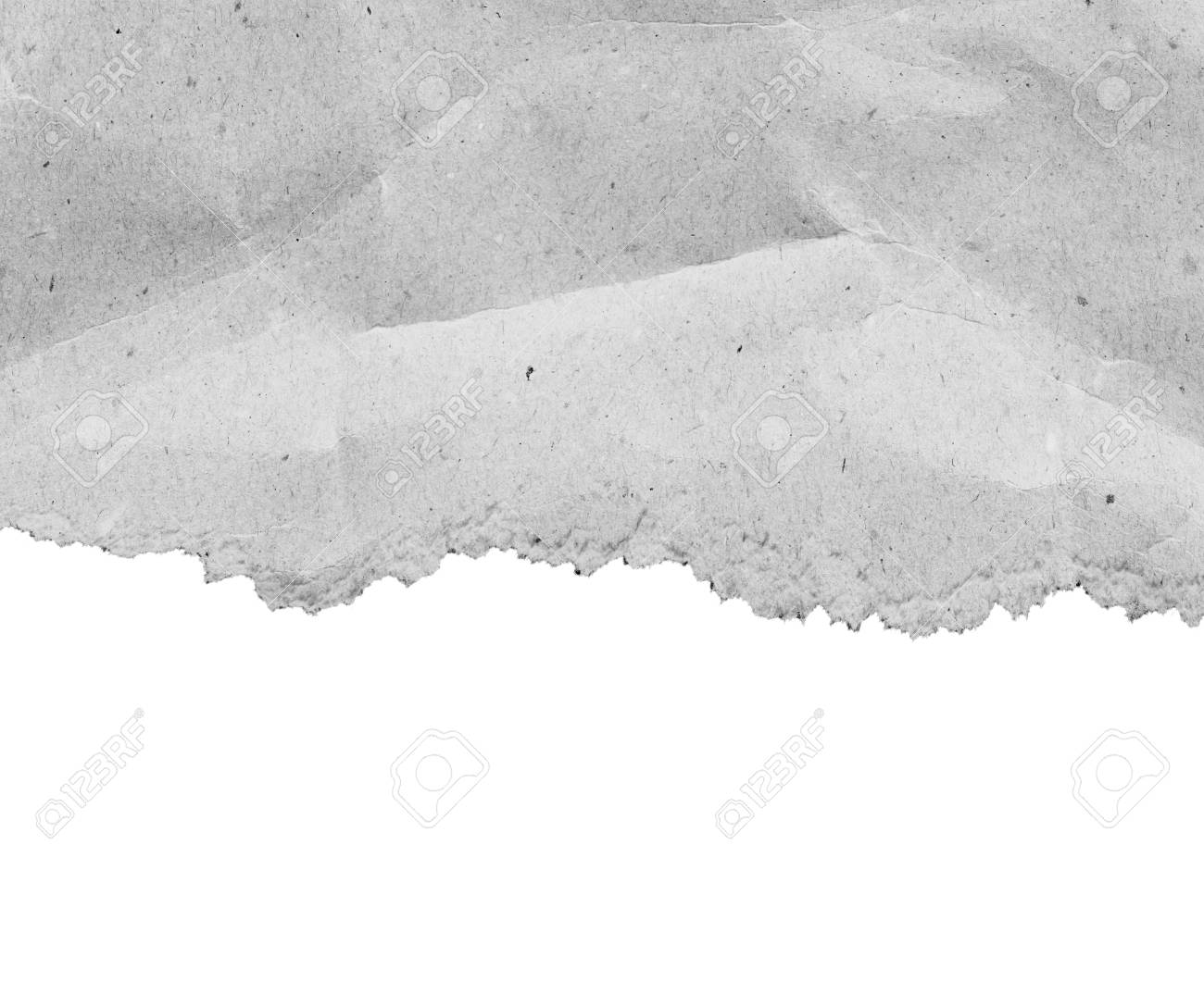 ripped paper edge transparent