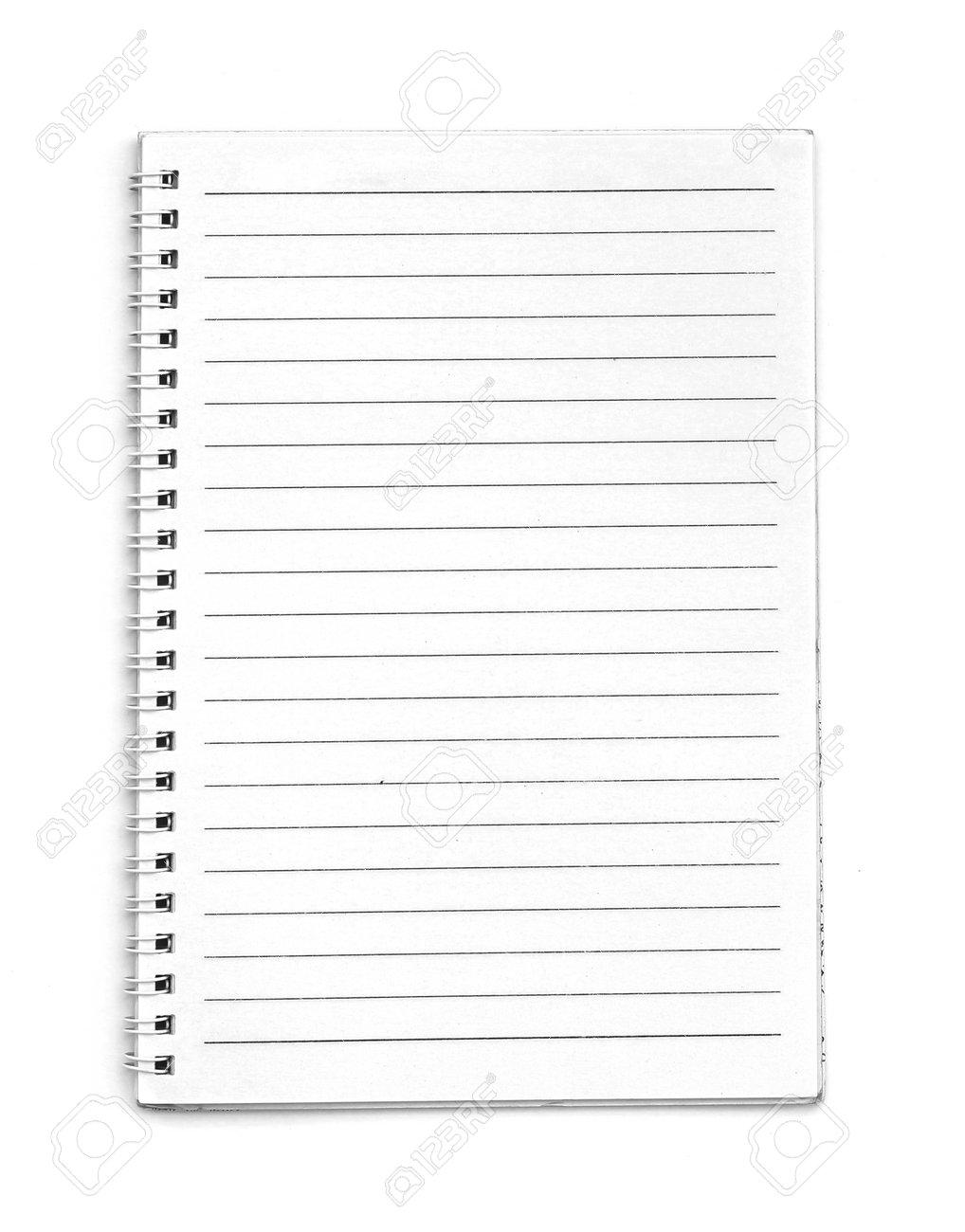 Blank line notebook - 166486159