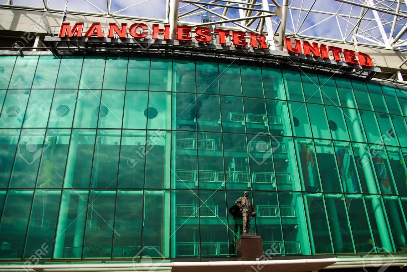 Old Trafford stadium, Manchester, England Stock Photo - 7840166