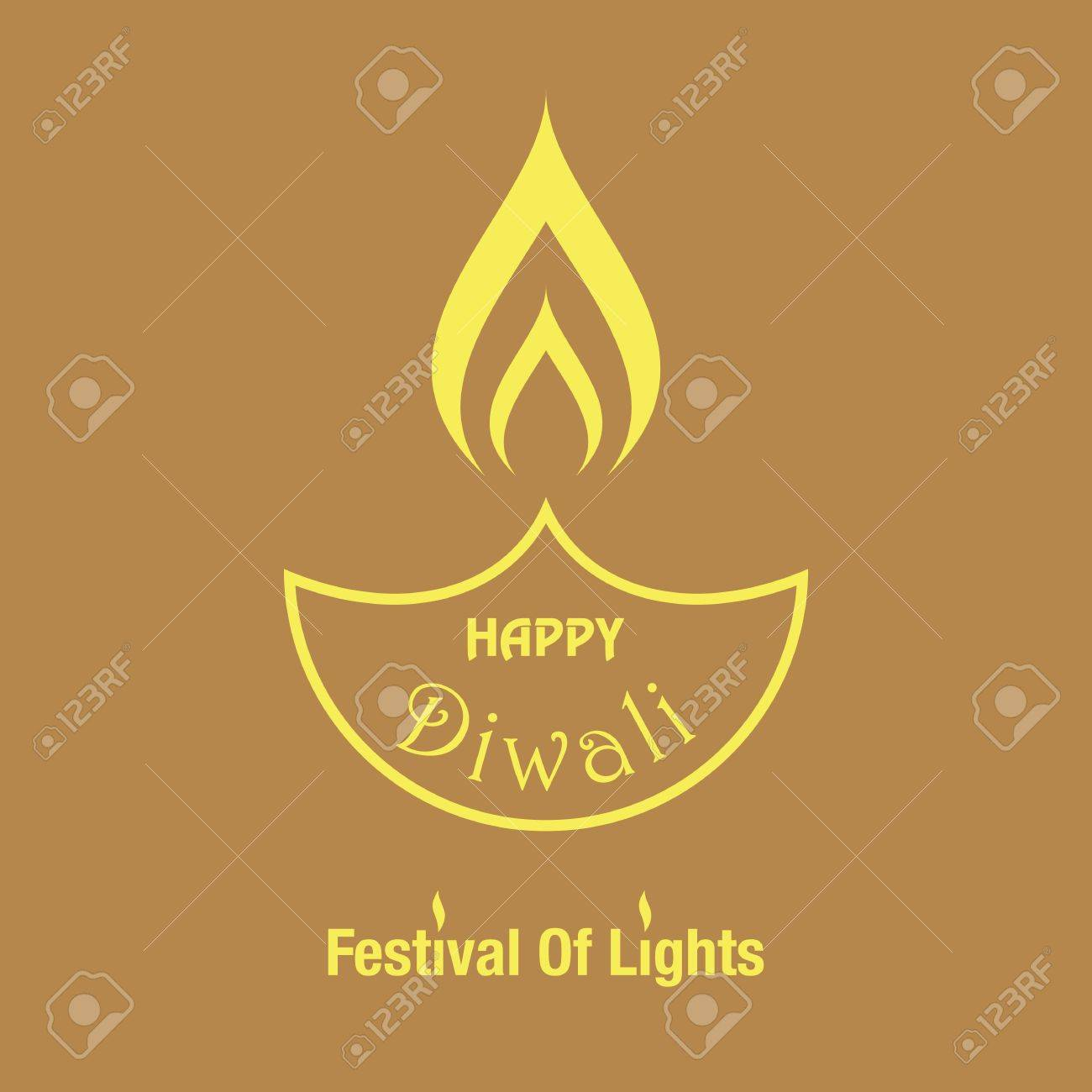 Vector illustration with happy diwali lettering greeting card happy diwali festival of lights greeting card background with indian lamphappy diwali festival greeting background and indian lamp m4hsunfo