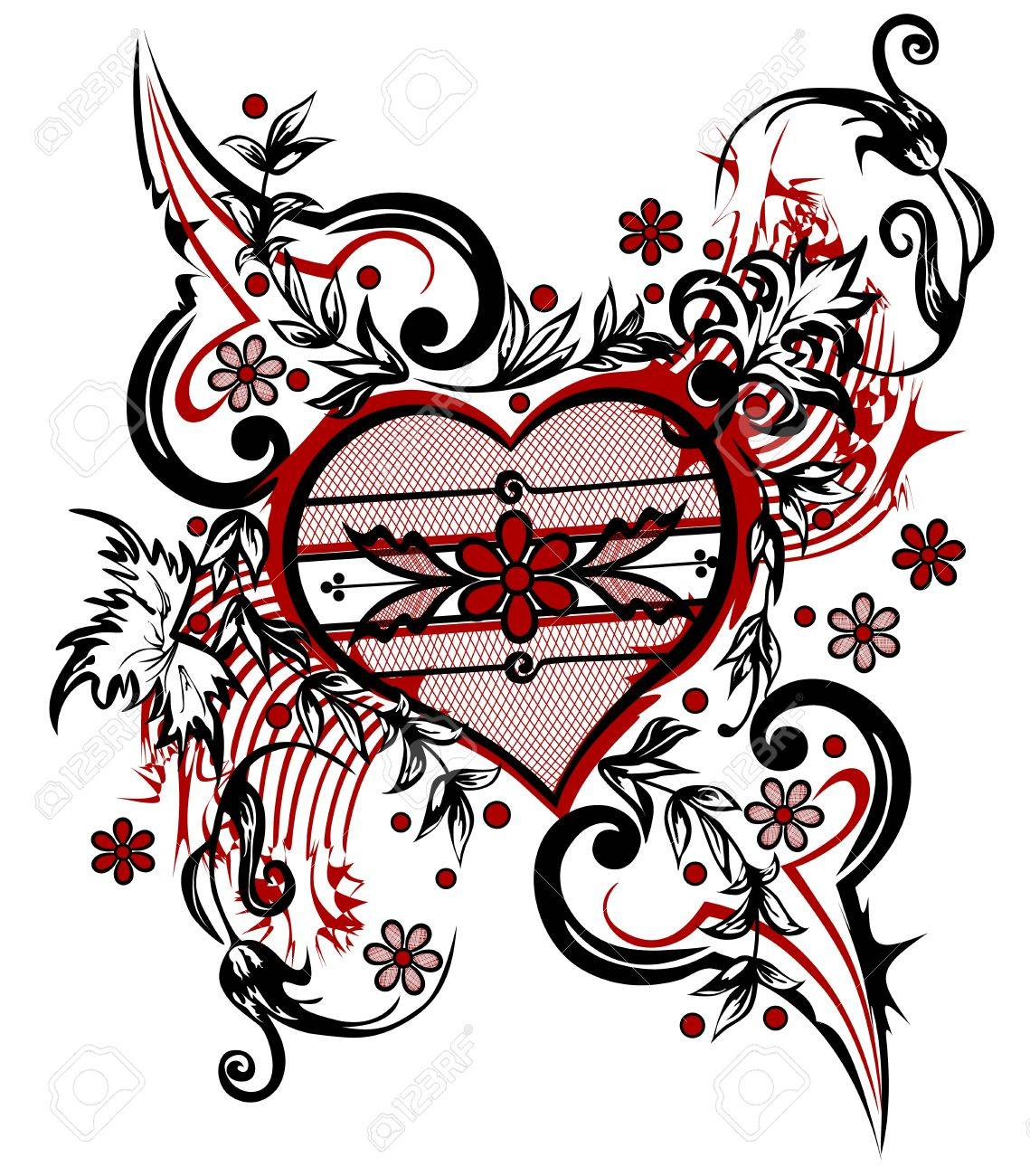 Uncategorized Valentine Drawing abstract drawing heart valentine background royalty free cliparts stock vector 13794579