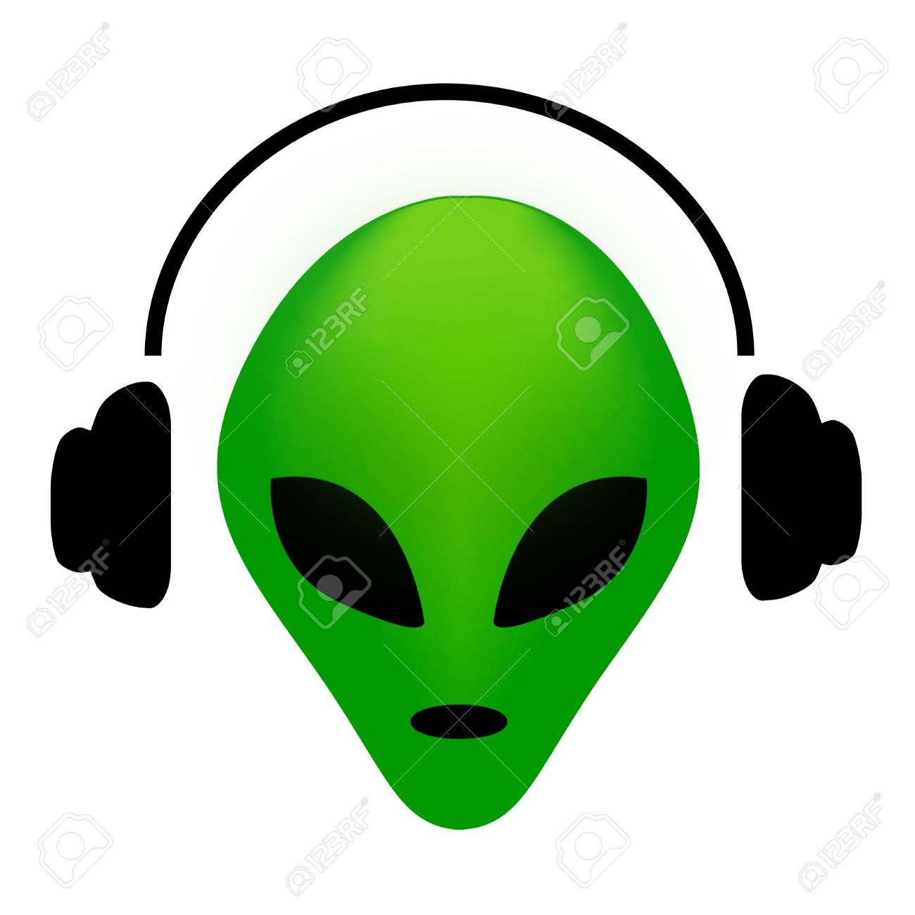 Green Alien Face Wearing Earphone Music Lover Alien Clipart Royalty Free Cliparts Vectors And Stock Illustration Image 38529377 Over 6,760 clipart alien pictures to choose from, with no signup needed. green alien face wearing earphone music lover alien clipart
