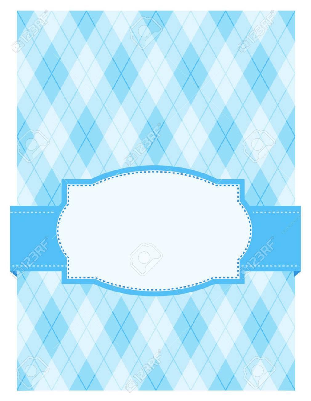 Argyle Azul / Fondo Arlequín Con El Marco. Especialmente Para ...