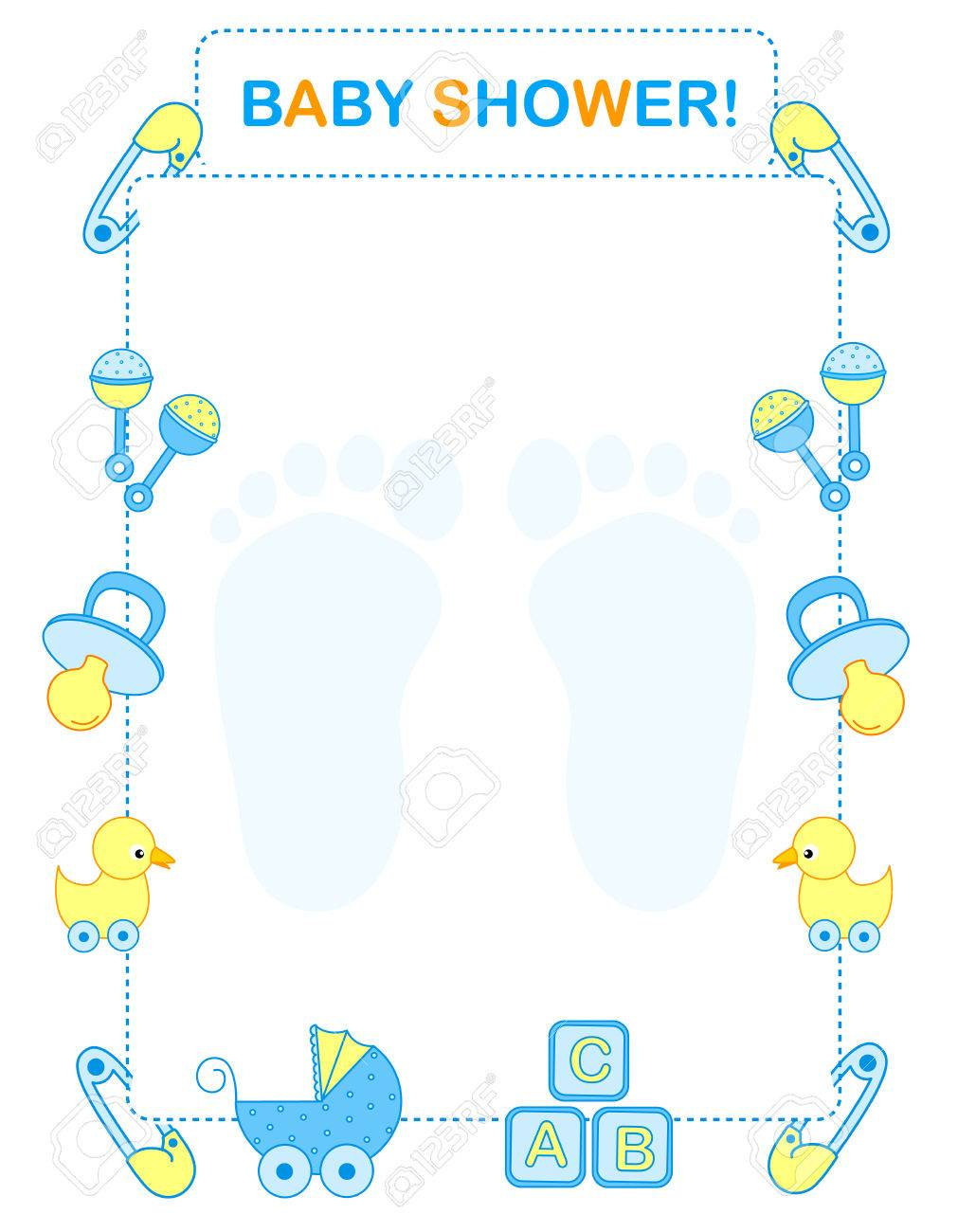 baby boy borders for invitations koni polycode co