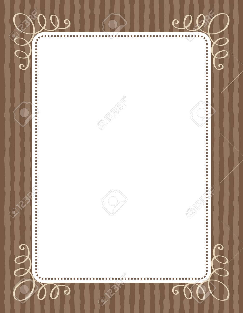 Retro Wooden Wedding Invitation/ Anniversary Background / Frame ...