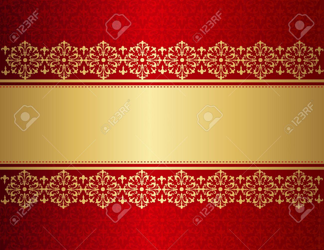 Elegant Wedding Invitation Anniversary Background Frame Design