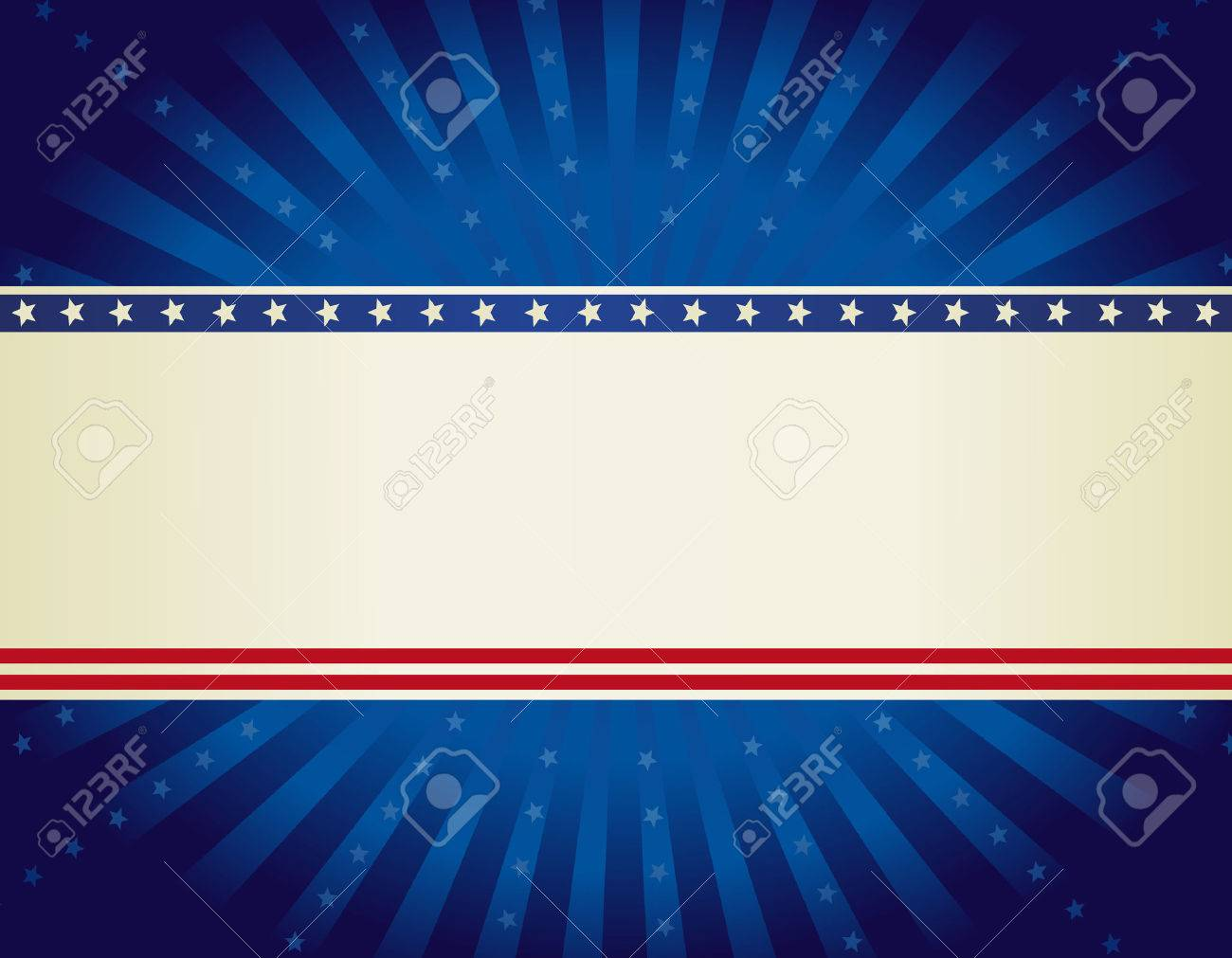 USA patriotic 4 th of july background design wth stars and stripes with starburst - 38908603