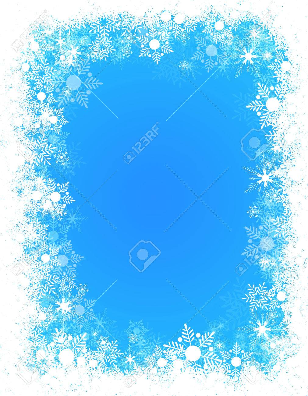 38,438 Winter Border Stock Vector Illustration And Royalty Free ...