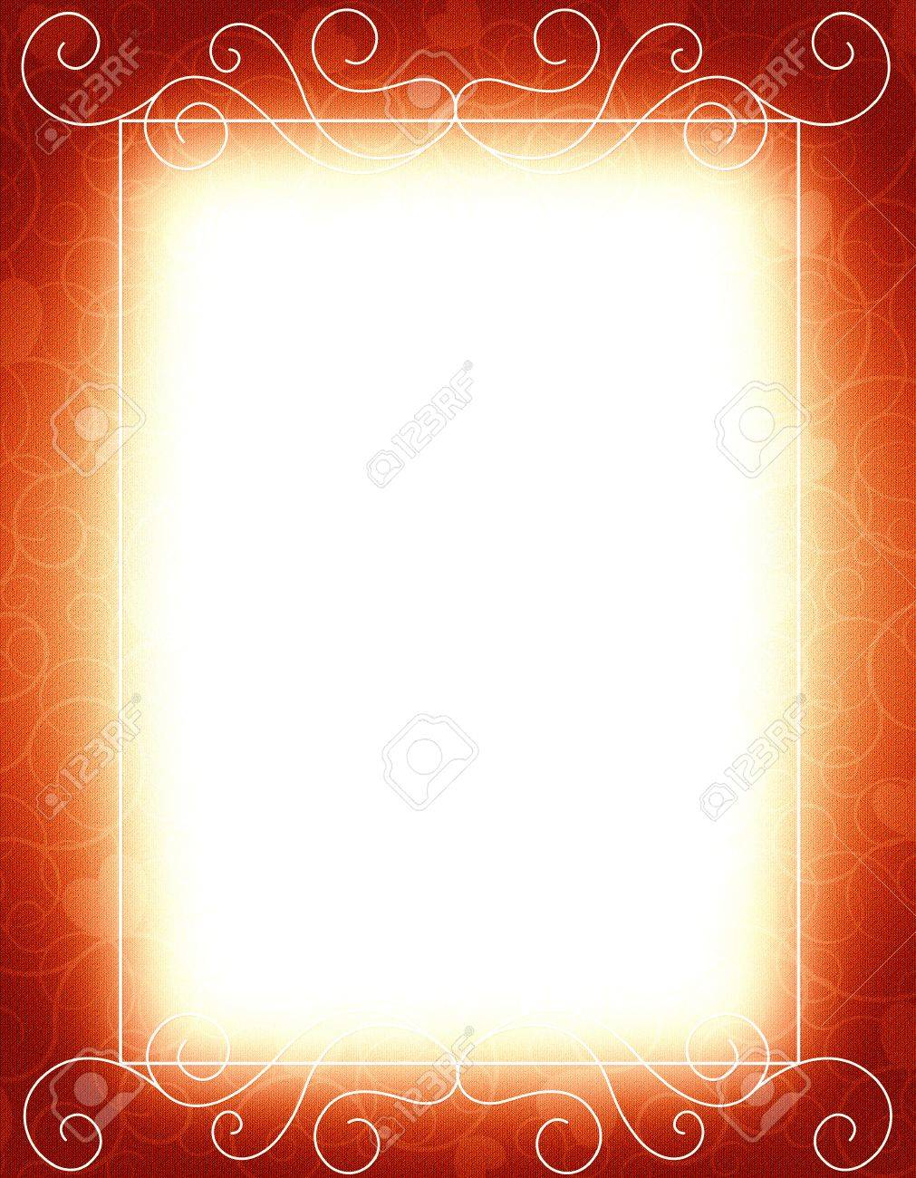 Elegant Gold And Red / Maroon Color Blank / Empty Background.. Stock ...