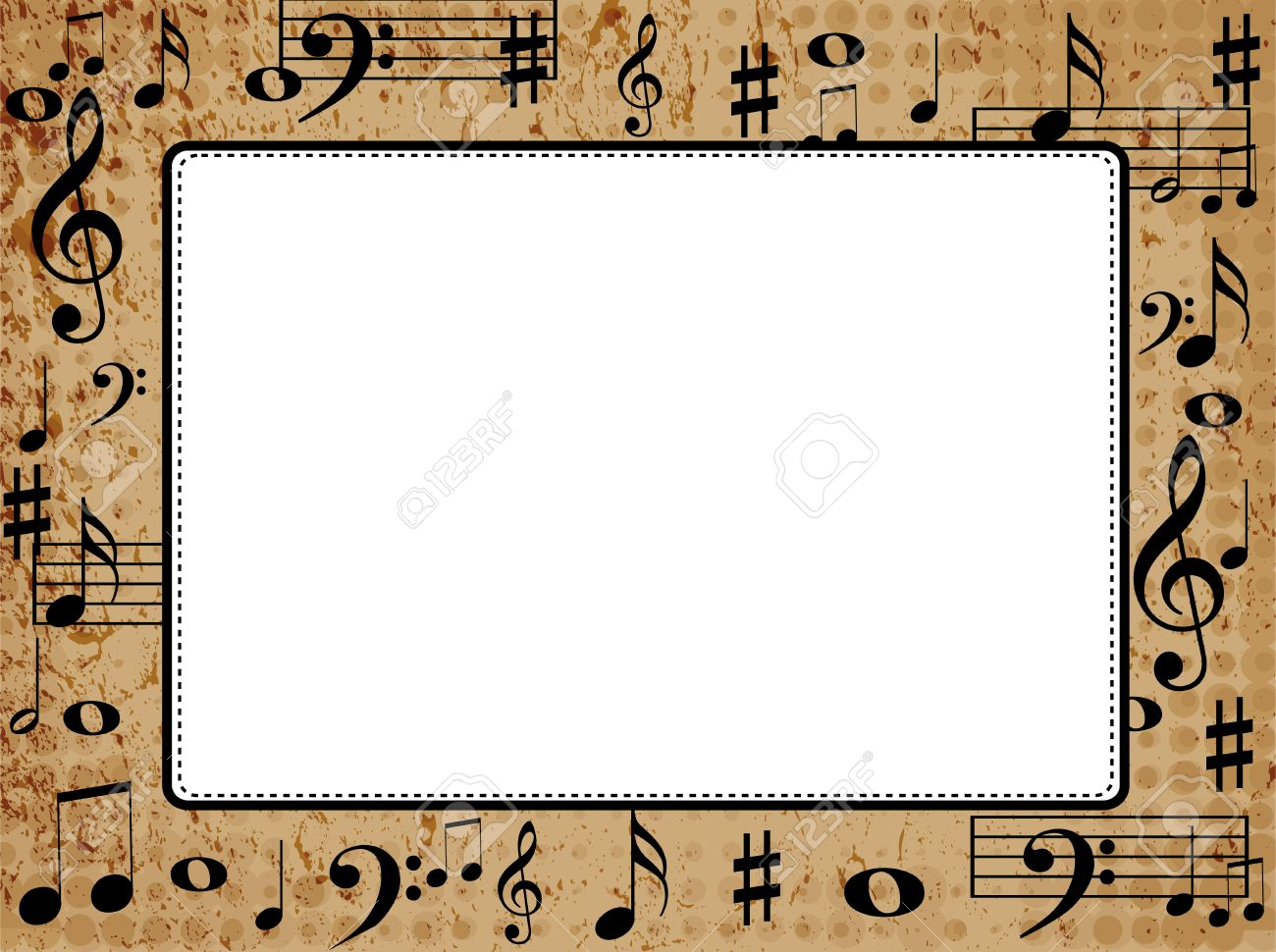 picture frame with music images craft decoration ideas picture frame with music image collections craft decoration - Music Picture Frame