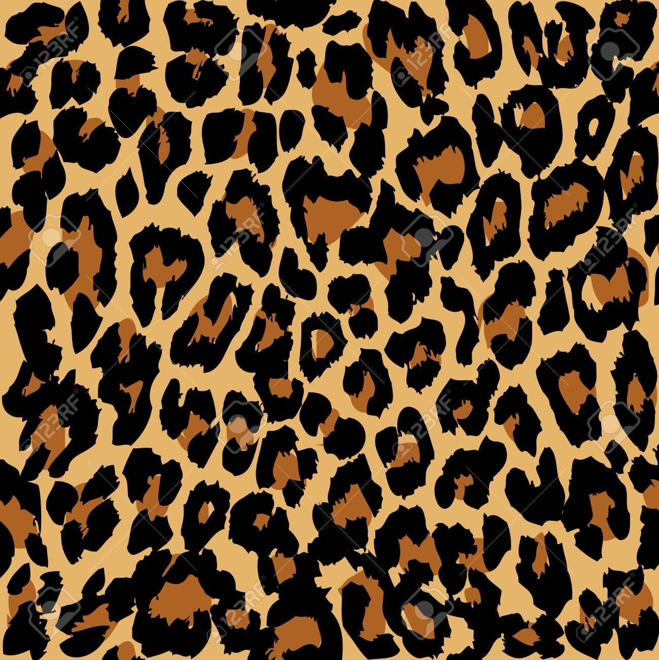 Leopard pattern. Vector. - 62744806