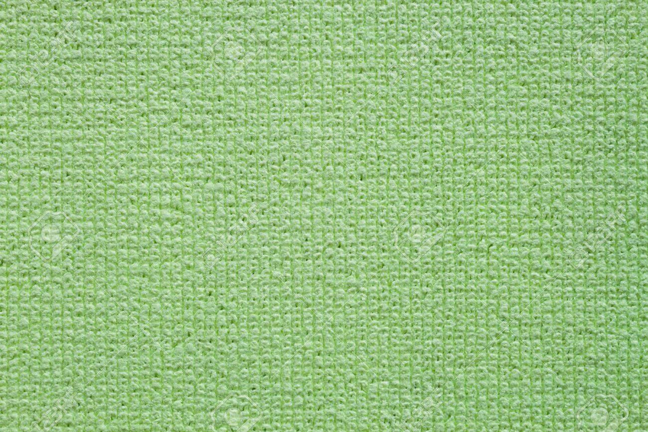 Green clean microfiber kitchen duster texture fullframe Stock Photo - 17699060