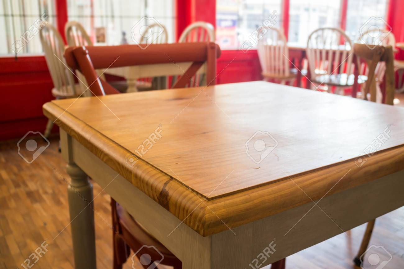Vintage Wooden Kitchen Table And Chair Stock Photo Stock Photo Picture And Royalty Free Image Image 71219029