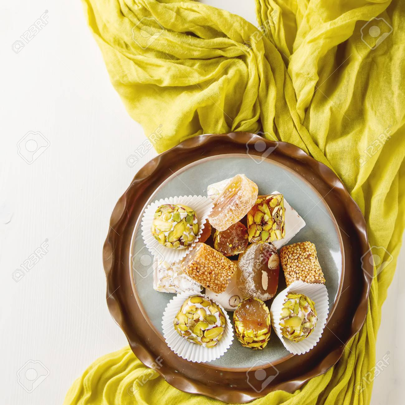 What make Turkish delight East sweets 93