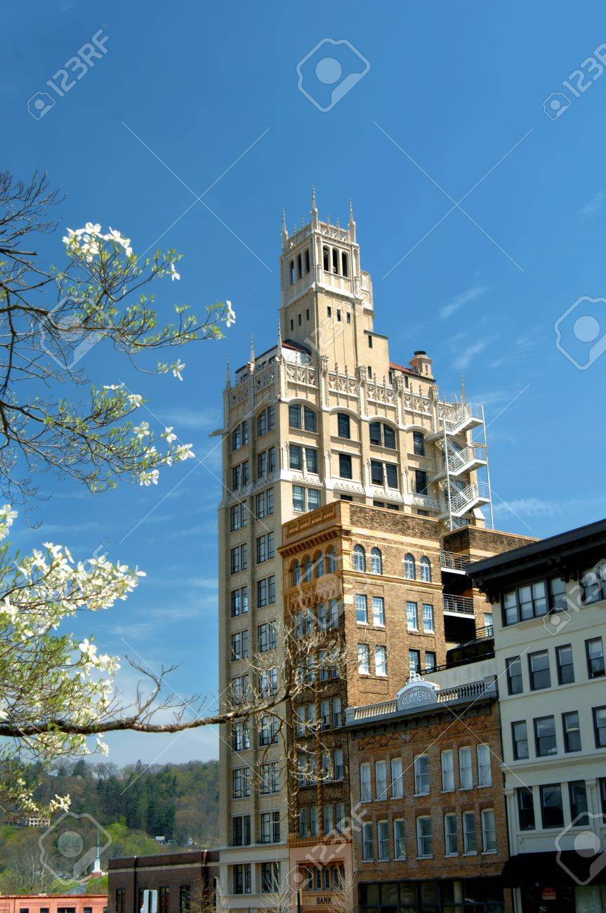 Image features historic downtown asheville north carolina in image features historic downtown asheville north carolina in spring flowers frame the historic jackson dhlflorist Image collections