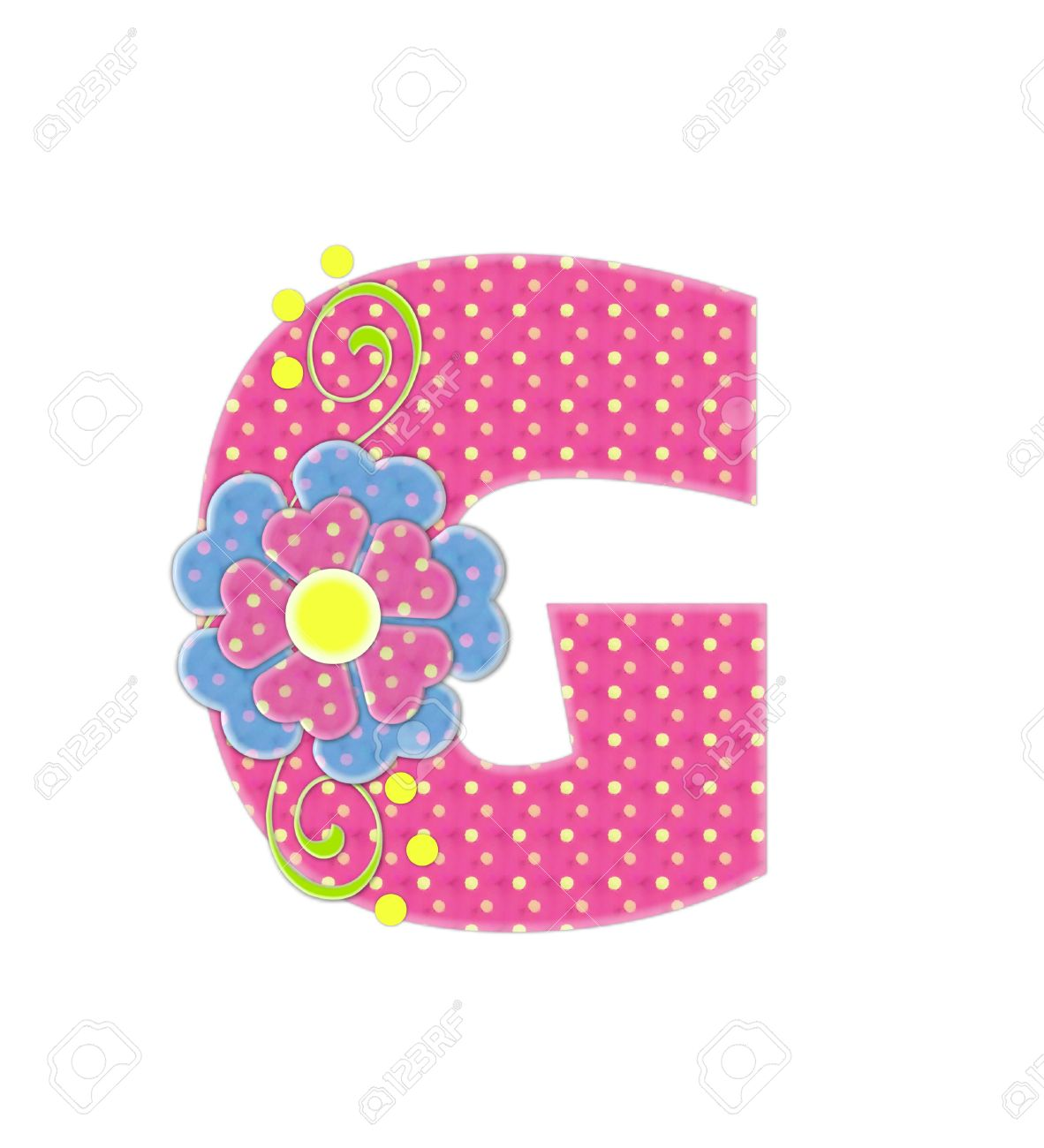 The Letter G, In The Alphabet Set \
