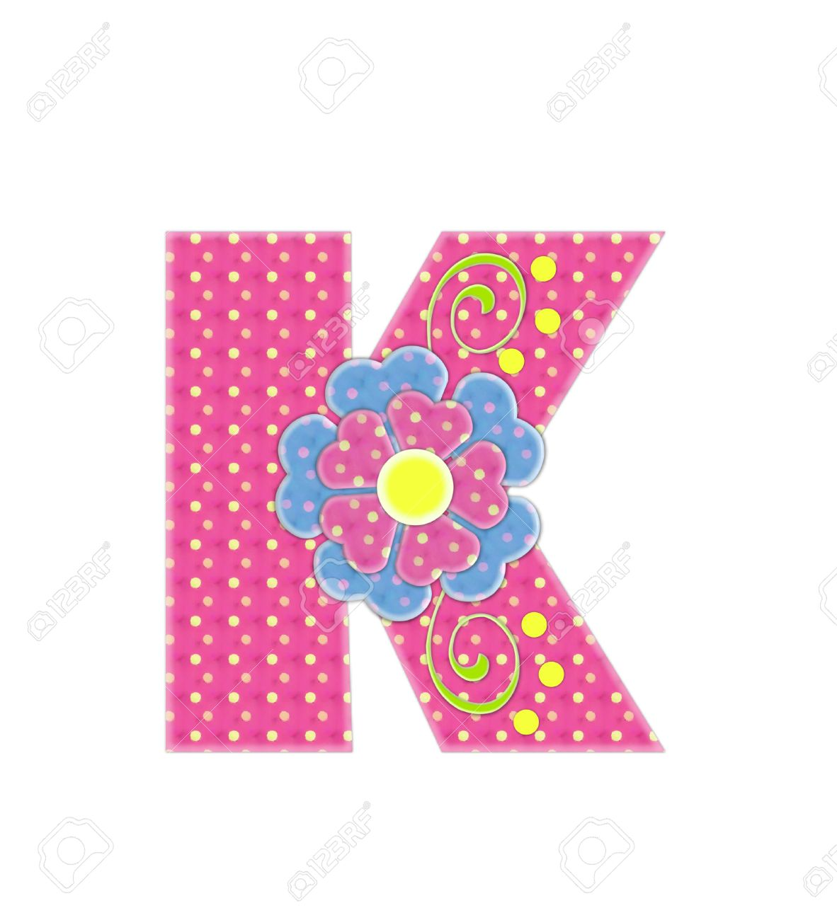 The Letter K, In The Alphabet Set \
