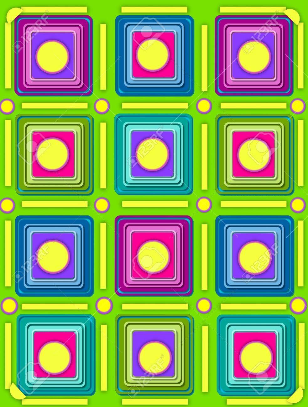 Sfondo verde 3d