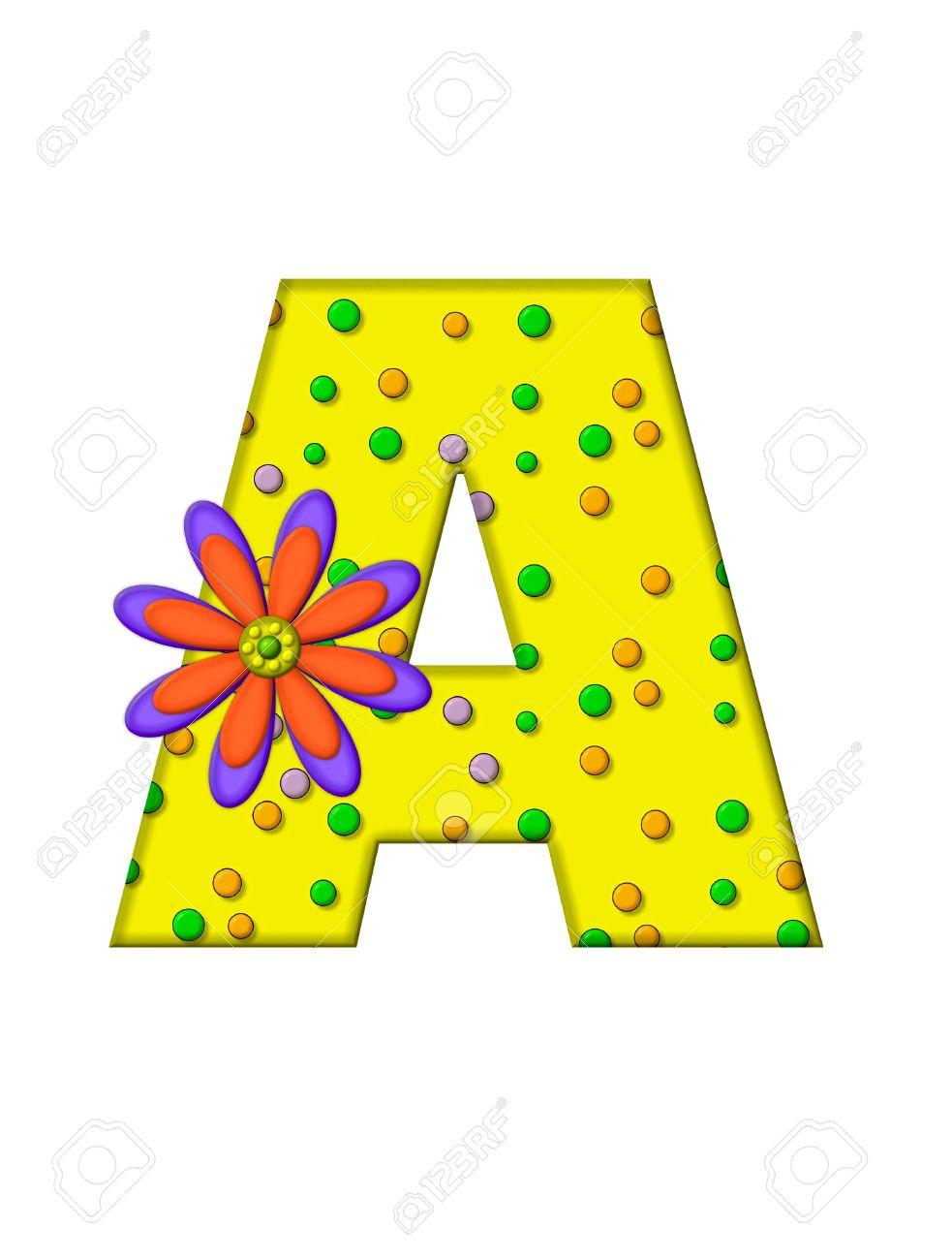 La Letra A, En El Alfabeto Creado \