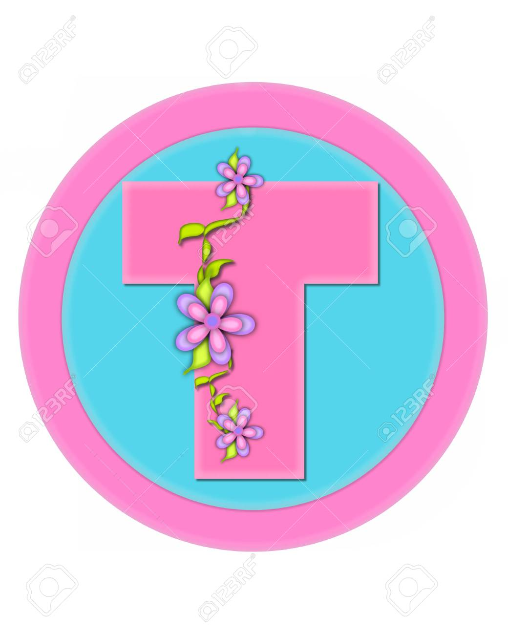 The Letter T, In The Alphabet Set \
