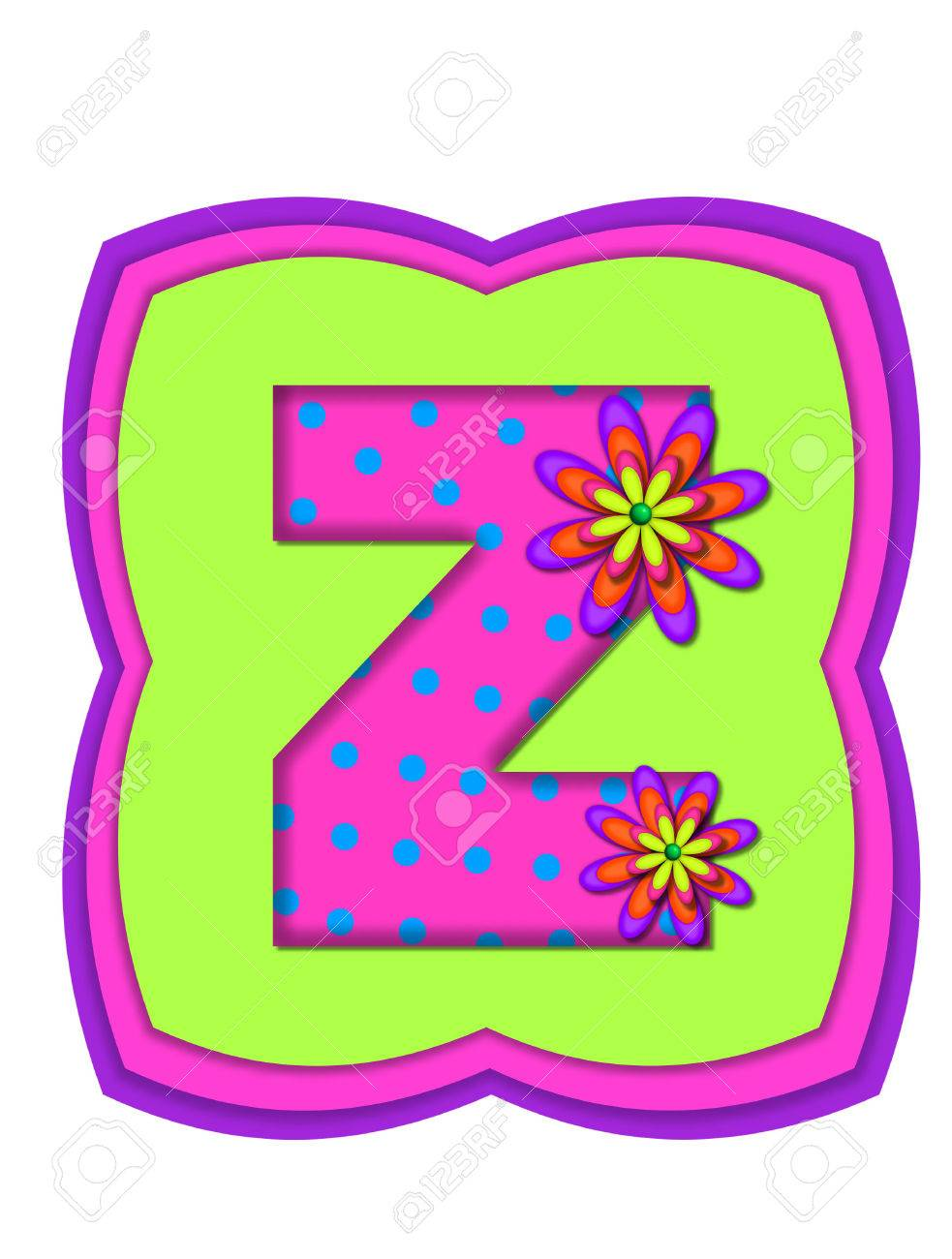 The Letter Z, In The Alphabet Set \