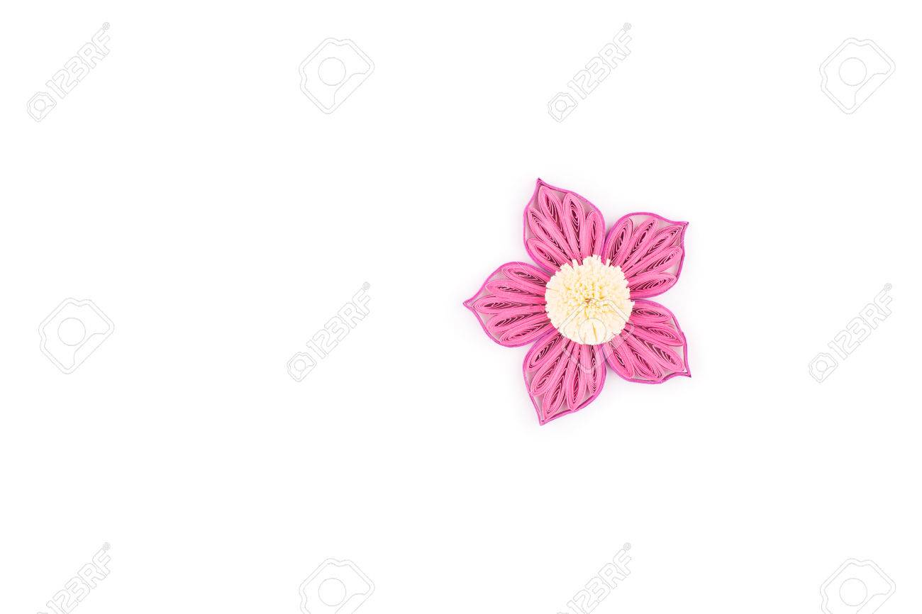 Paper Quillingcolorful Paper Flower Stock Photo Picture And