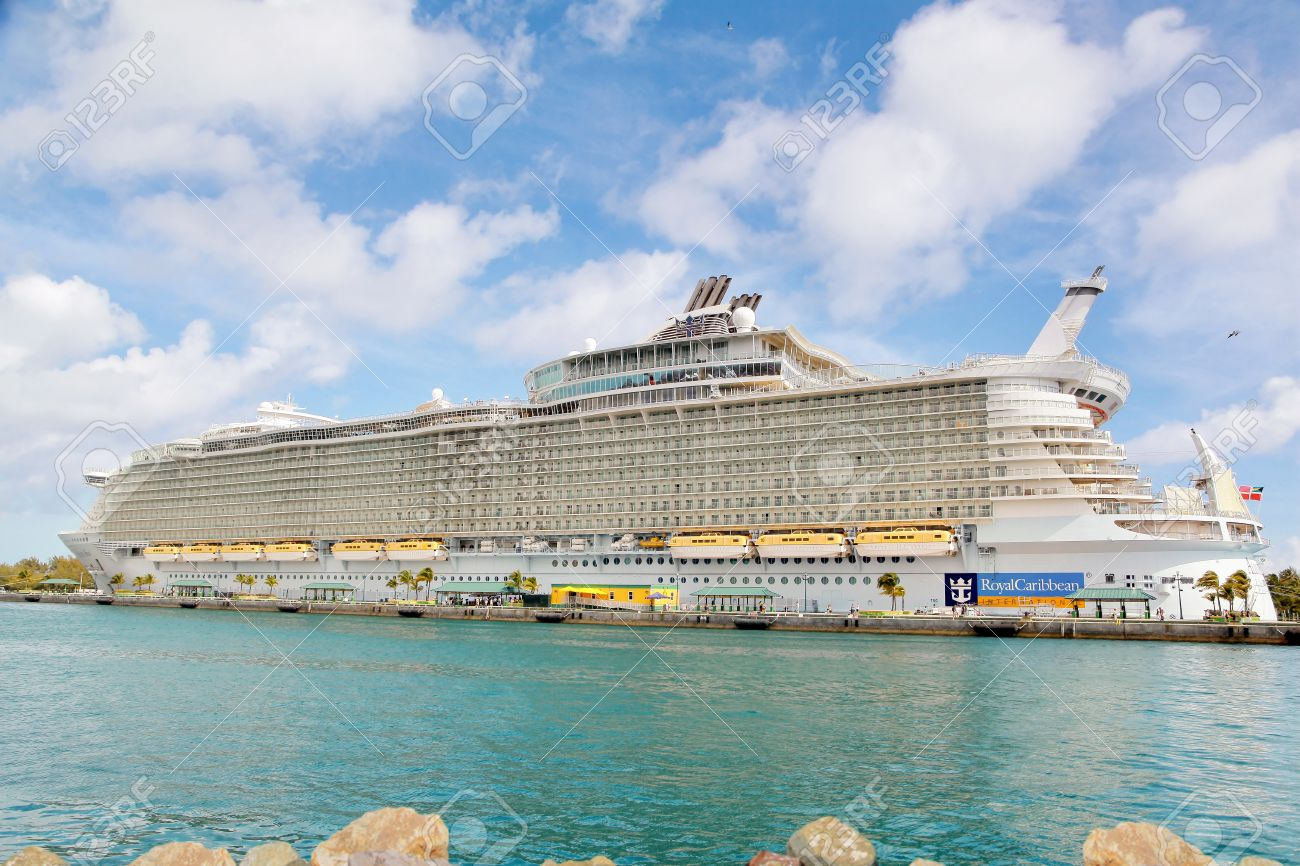 Nassau Bahamas April Royal Caribbean Cruise Ship Allure - Allure cruise ship