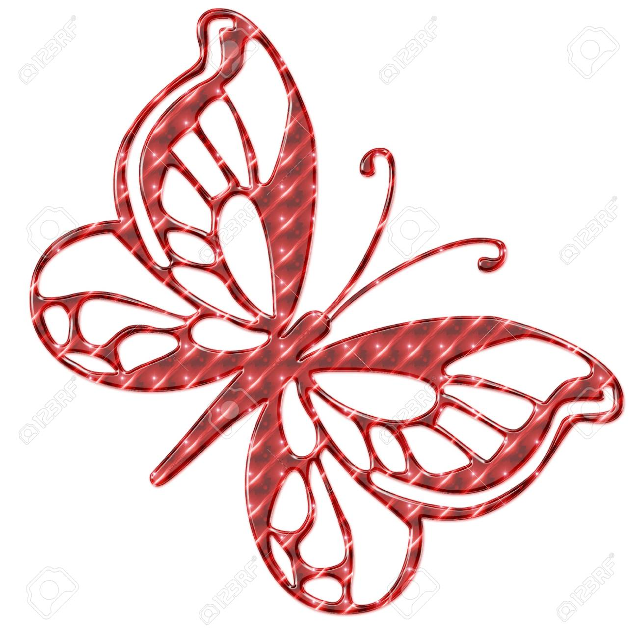 a pretty bright and colorful butterfly Stock Vector - 5274923