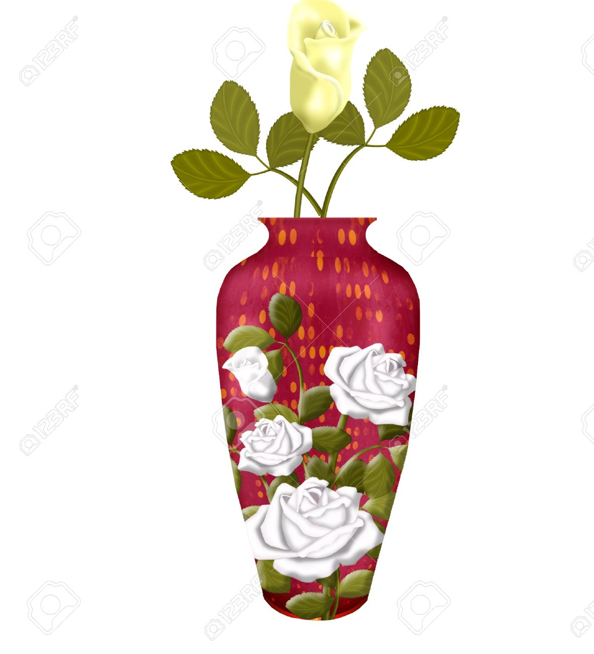 Flower Vase Stock Photos. Royalty Free Flower Vase Images