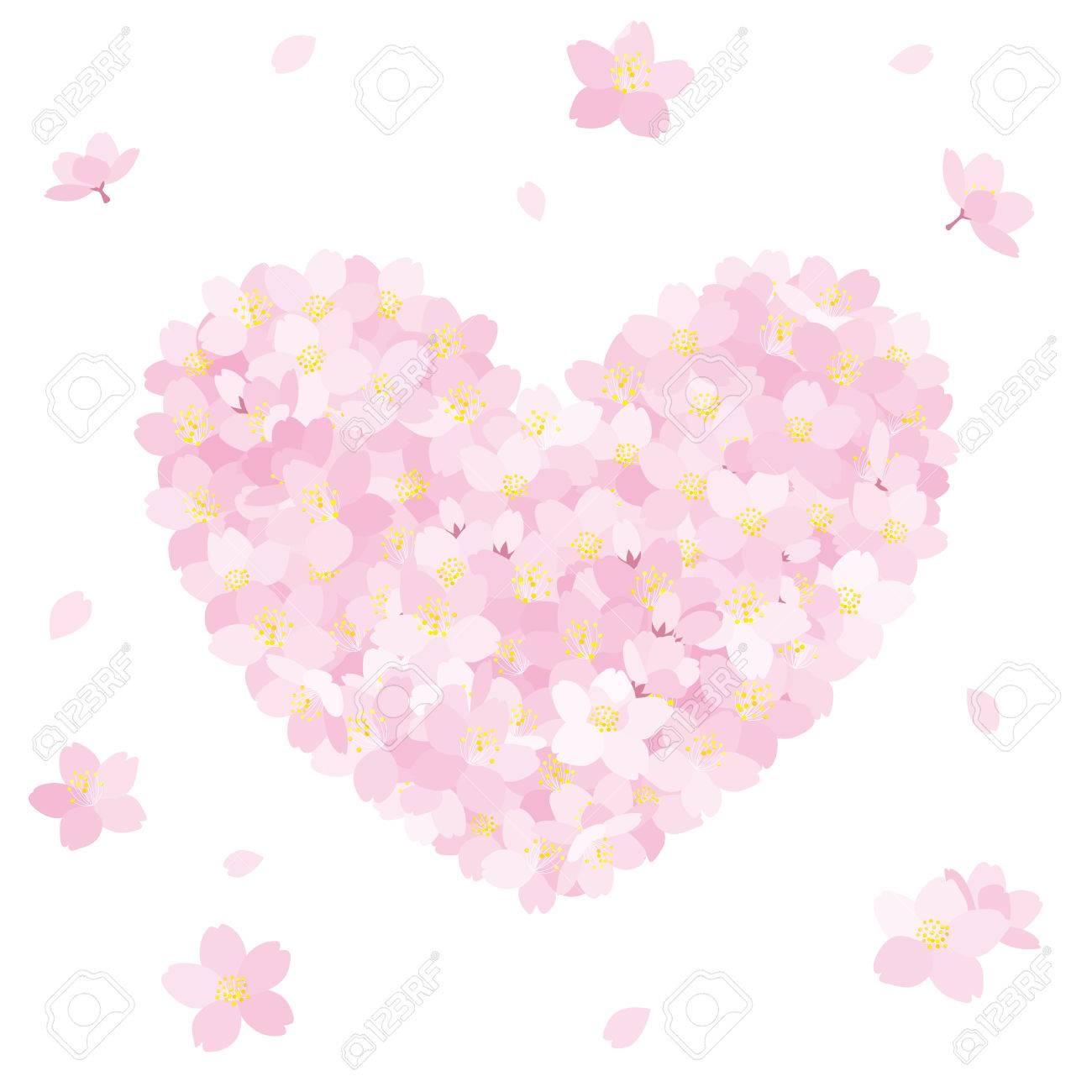 Cerezos En Flor En Forma De Corazón Fotos Retratos Imágenes Y