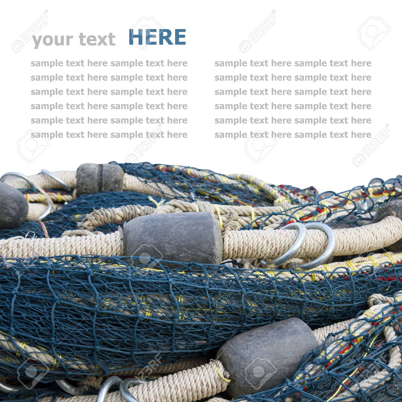 fishing net Standard-Bild - 24804639