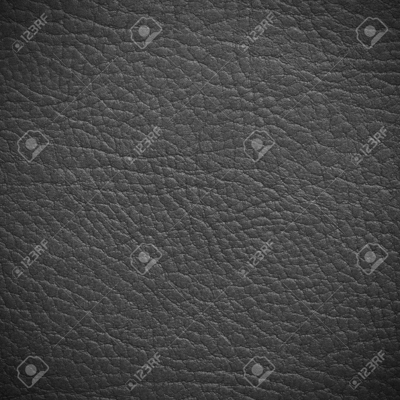 Grey leather texture closeup Standard-Bild - 41699718