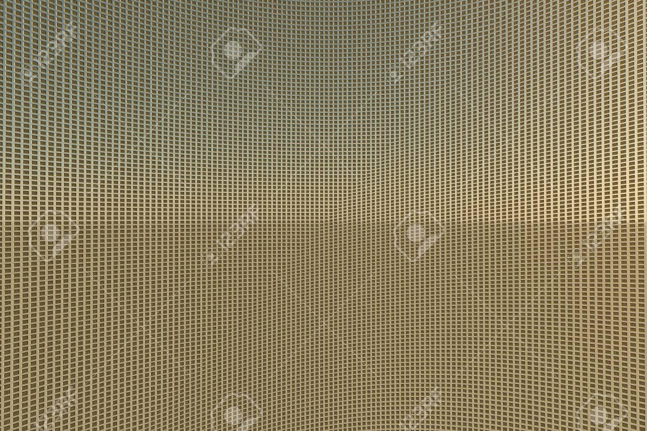 Golden metal grid background Stock Photo - 11995931