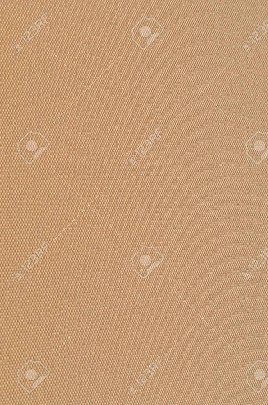 fragment of a beige fabric close up Stock Photo - 12012460