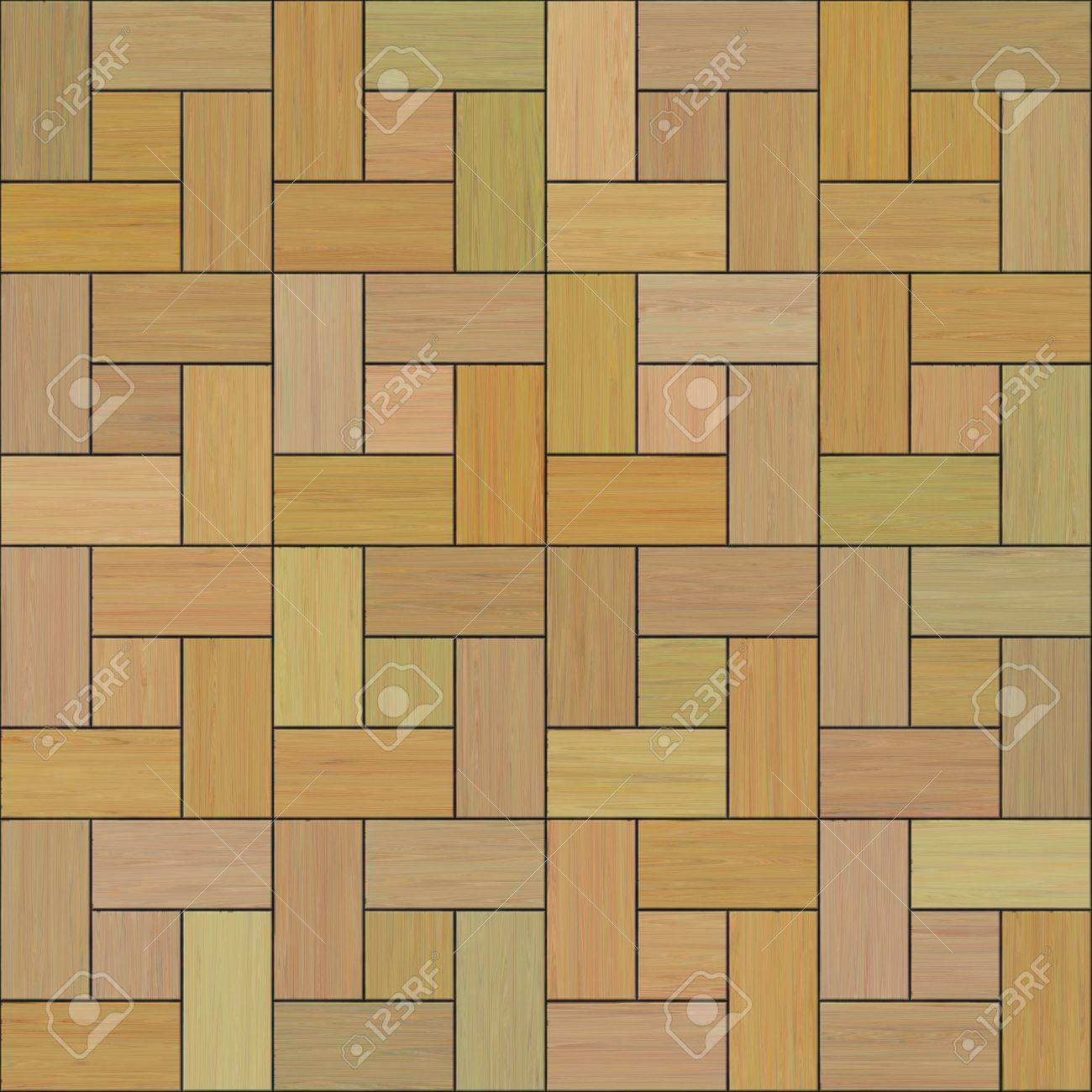 Seamless High Quality High Resolution Wooden Floor Tiles Stock Photo