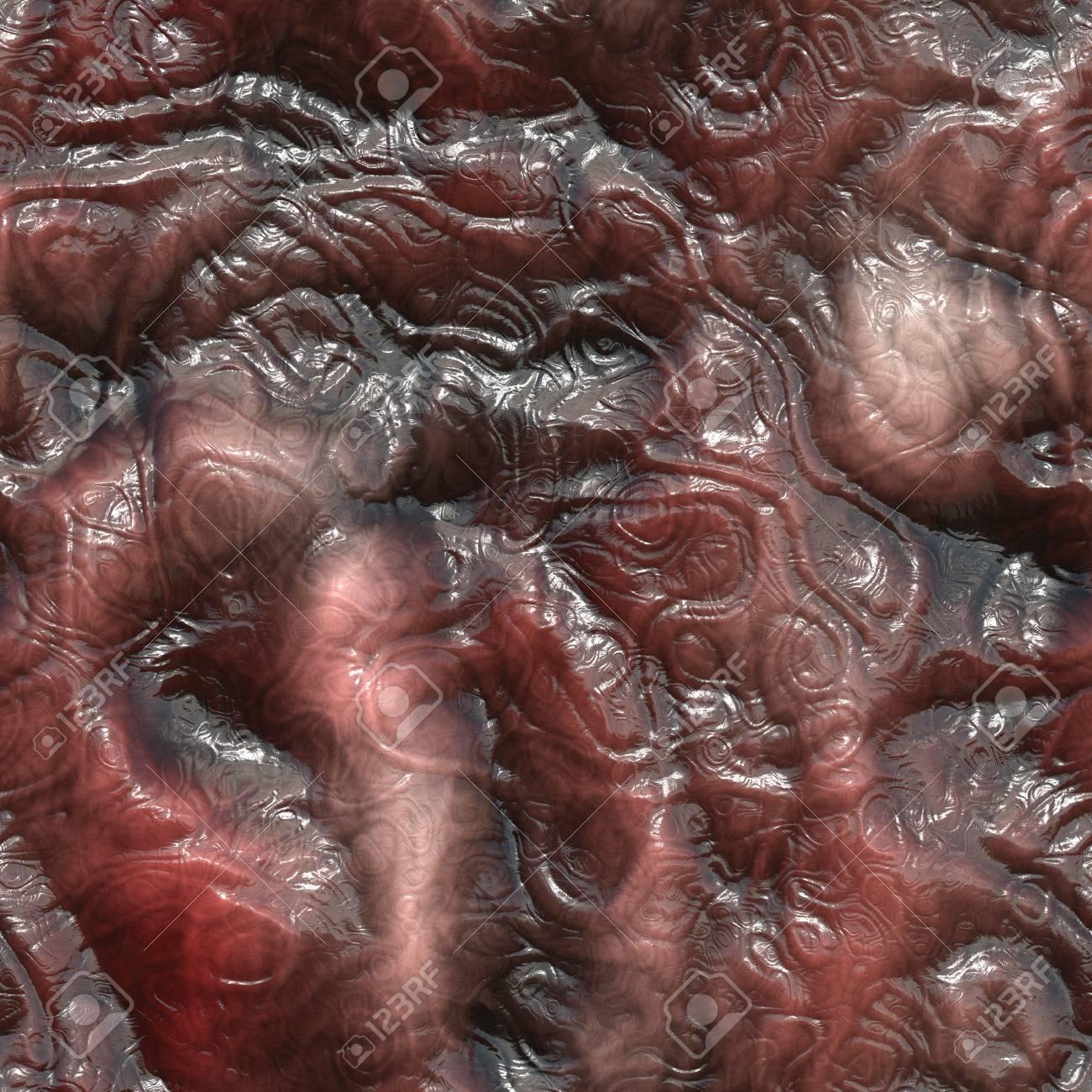 Seamless rendered illustration of internal tissue Stock Photo - 18830311