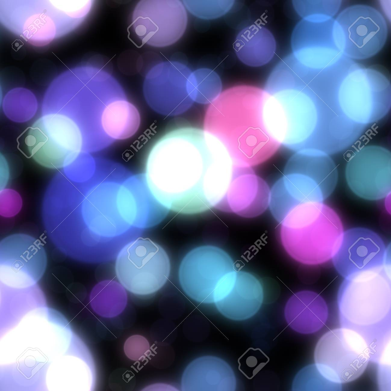 Seamless abstract background with bokeh defocused lights Stock Photo - 18946602