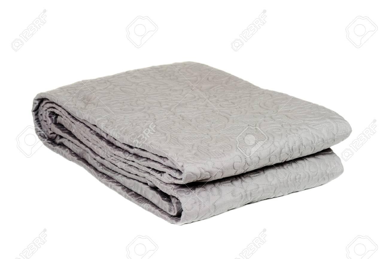 Decorative blanket isolated on white background - 45015018
