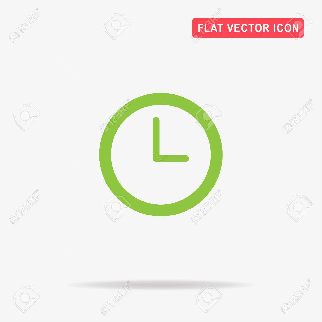 Zeitschaltuhr-Symbol. Vector Konzept Illustration Für Design ...